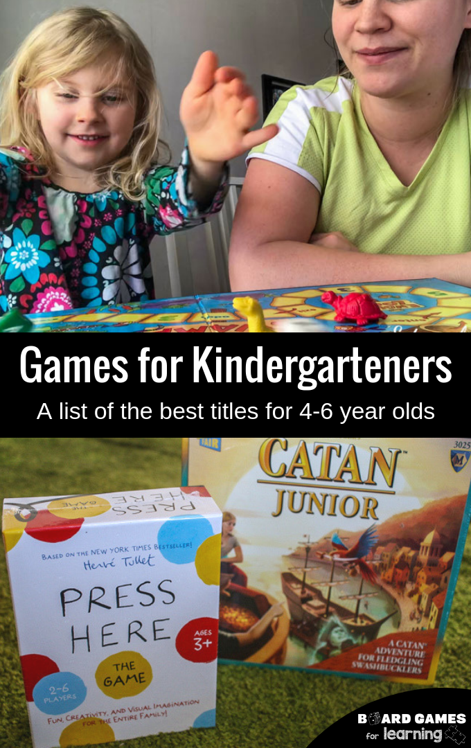Educational games for 4, 5, 6 year old kindergarteners.