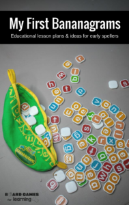 How to use my first bananagrams for early spellers and readers.