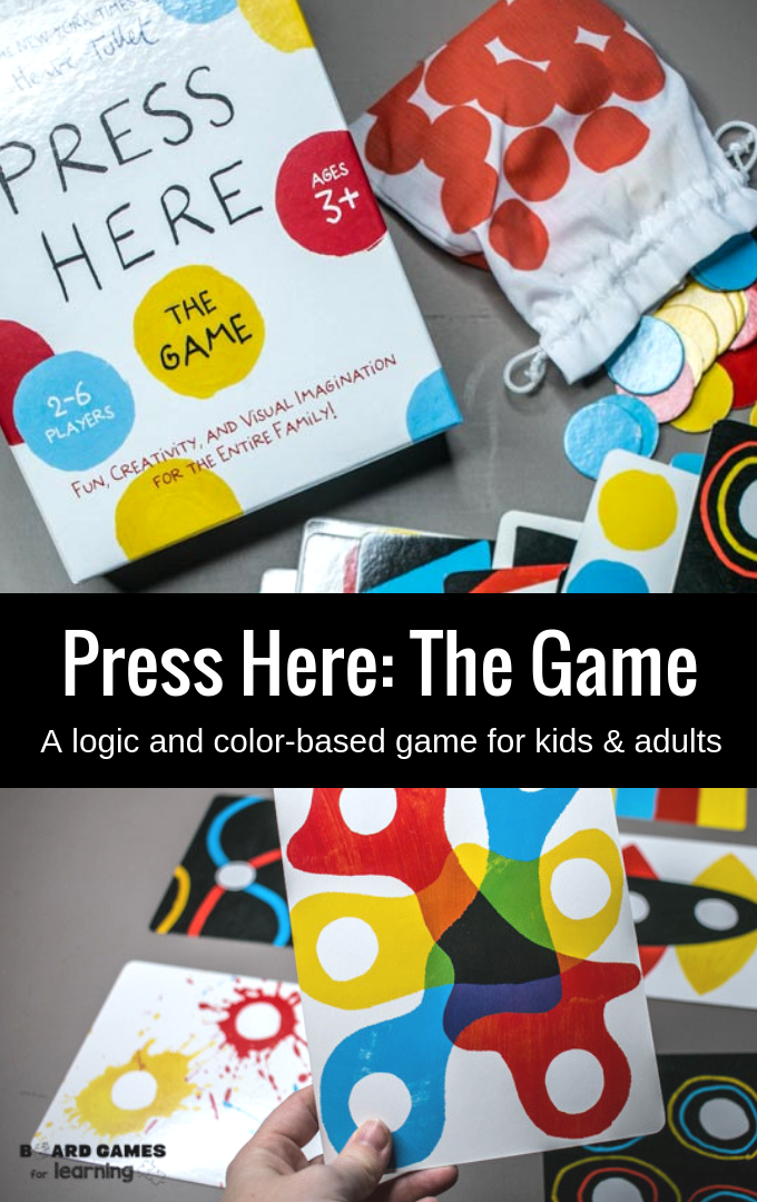 Press here the game - introducing toddlers, preschoolers, and kids to basic color theory and logic.