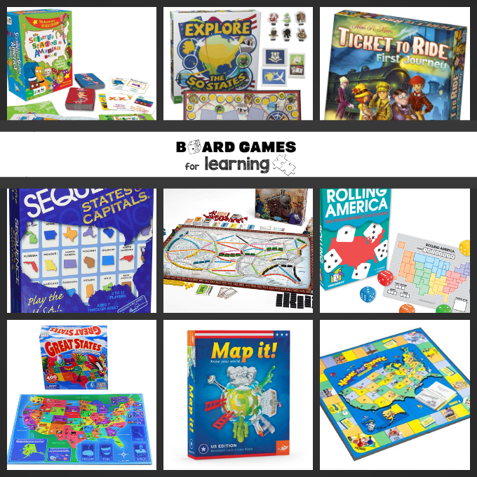 Help kids learn states and capitals as well as fun facts about the United States through playing games