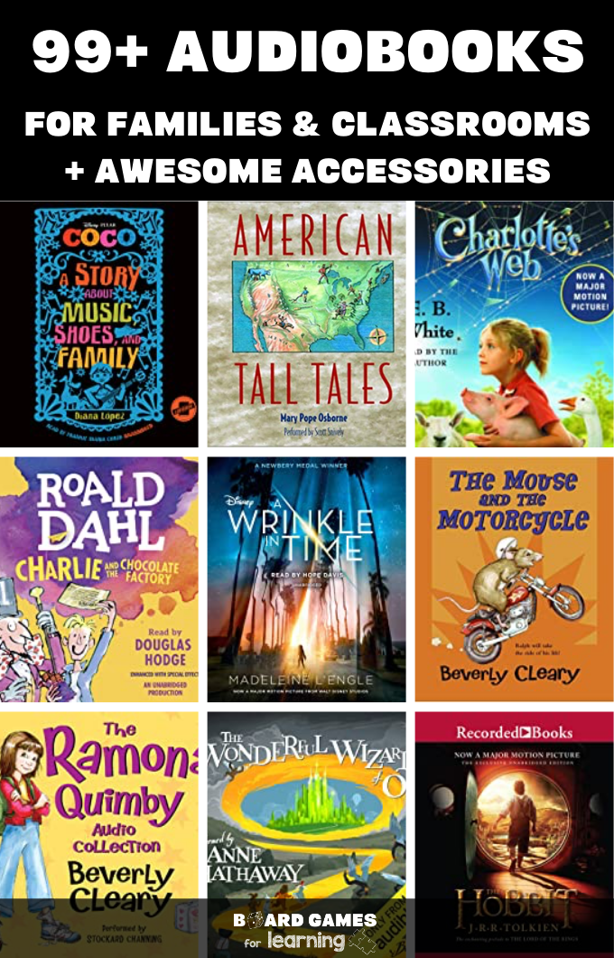 The very best Audiobooks for home and classroom
