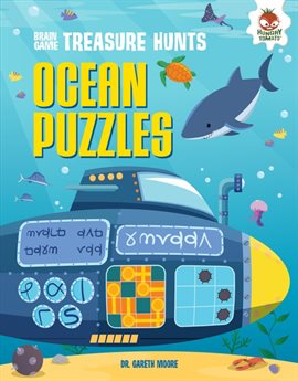 Ocean Puzzles + Brain Game Treasure Hunts Series